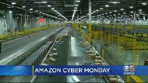 Amazon's Huge, Efficient Tracy Shipment Center Speeds Up Cyber Monday Deliveries [Video]