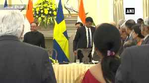 Swedish King holds high level dialogue with PM Modi in Delhi [Video]