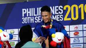 Highlights: Philippines' Edmar Tacuel wins Gold in Pencak Silat Men's Seni Tunggal [Video]