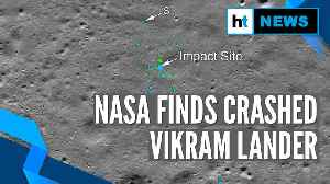 Watch: NASA releases images of impact site of Chandrayaan-2's Vikram lander [Video]