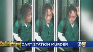 Surveillance Images Released Of Possible Suspect In DART Station Murder [Video]