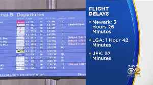 Flight Delays Stretch Into Monday Night After Snow Storm [Video]
