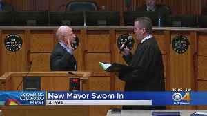 Mike Coffman, Aurora City Council Members To Be Sworn In [Video]