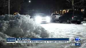 Denver Public Works caves to pressure, will deploy large plows to side streets [Video]