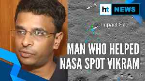 Watch: Chennai engineer explains how he spotted lander Vikram's debris [Video]