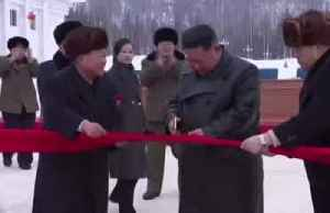 News video: Kim Jong Un celebrates 'modern mountainous city'