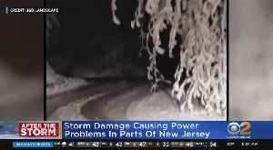Thousands Without Power After Season's 1st Snowfall [Video]