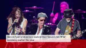 Aerosmith to tour Las Vegas show in the UK in 2020 [Video]