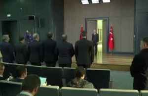 News video: Turkey to oppose NATO plan if it fails to recognise terrorism threats - Erdogan