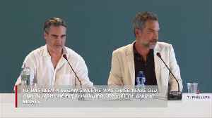 News video: Joaquin Phoenix named PETA's Person of the Year 2019