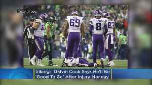 News video: Vikings' Dalvin Cook Says He'll Be 'Good To Go' After Injury On Monday Night Football