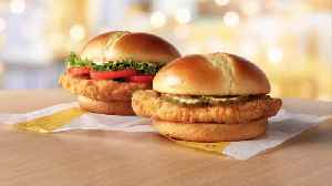 McDonald's Is Testing New Chicken Sandwiches [Video]