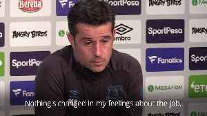 News video: Everton: Silva ignoring pressure ahead of Liverpool clash