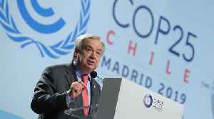 News video: UN Chief Warns Climate Change Is at 'Point of No Return'
