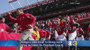 News video: Rutgers OKs Deal To Bring Back Greg Schiano As Football Coach