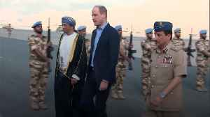 Prince William lands in Oman [Video]