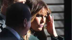 News video: First Lady Melania Trump Sleeps On A Different Floor Than Her Husband