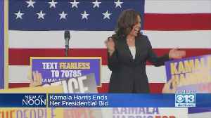 Kamala Harris Ends Presidential Campaign [Video]
