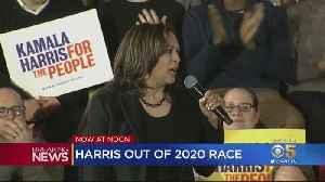 News video: Sen. Kamala Harris Drops Out Of Presidential Race