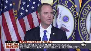 Democrats release impeachment report [Video]