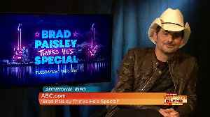 ABC'S 'Brad Paisley Thinks He's Special' [Video]