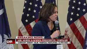 Senator Kamala Harris suspends presidential campaign [Video]