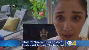 News video: Peloton's 'Grace From Boston' Holiday Ad Has Angered The Internet