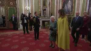 The Queen holds Nato reception at Buckingham Palace [Video]