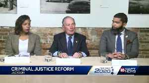 Bloomberg addresses criminal justice reform in Jackson [Video]