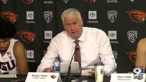 Web Extra: OSU men's basketball recaps win over Portland State (12/1/19) [Video]