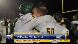 Paradise falls to Sutter, 20-7 [Video]