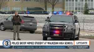 Police shoot armed 17-year-old student at Waukesha High School [Video]