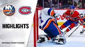 NHL Highlights | Islanders @ Canadiens 12/03/19 [Video]