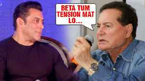 News video: Salim Khan's SPECIAL Advice To Son Salman Khan For Dabangg 3 Munna Badnaam Hua Launch