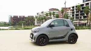 smart EQ fortwo edition one Design in asphalt grey [Video]
