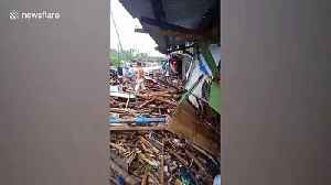 Typhoon Kammuri victims return to their damaged homes after storm [Video]