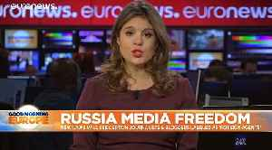 Russia Media Freedom: New laws label journalists and bloggers 'foreign agents'