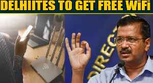News video: Arvind Kejriwal announces free WiFi in Delhi with 11,000 hotspots | Oneindia News