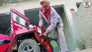 60-year-old mechanic from India builds the 'world's smallest Jeep' [Video]