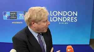 Boris Johnson asked why he's avoiding photos with Trump [Video]