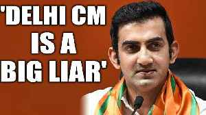 Gautam Gambhir attacks Arvind Kejriwal over free WiFi promise | OneIndia News [Video]