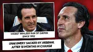 THE TRUTH BEHIND UNAI EMERY'S ARSENAL SACKING! | #WNTT [Video]