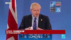 Boris Johnson outlines UK contributions in NATO address [Video]