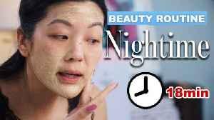 Allure Editor's Entire 18-Minute Nighttime Skincare Routine [Video]