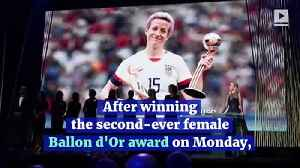 Megan Rapinoe Urges Messi and Ronaldo to Fight for Equality [Video]