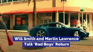 Will Smith and Martin Lawrence Talk 'Bad Boys' Return [Video]