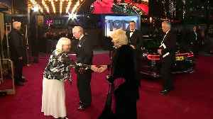 Prince Charles and Camilla attend 1917  film premier [Video]