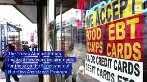 Nearly 700,000 People to Lose Food Stamps With USDA Rule Change [Video]