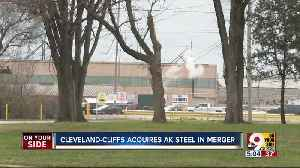 AK Steel purchased by Cleveland-Cliffs [Video]