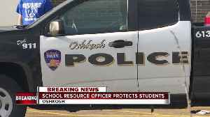 News video: School resource officer protects students